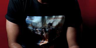 Saurabh Raaj Jain berbincang eksklusif dengan Bintang.com menjelang ditayangkannya film 'Check in Bangkok'. Foto: Fathan Rangkuti
