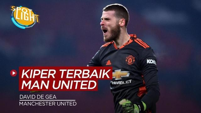 Berita video spotlight kali ini membahas tentang deretan kiper terbaik Manchester United di Era Premier League, salah satunya adalah David De Gea.