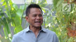 Ekspresi Presiden Komisaris PT Mugi Rekso Abadi (MRA) Soetikno Soedarjo saat tiba di Gedung KPK, Jakarta, Rabu (12/9). KPK telah menetapkan Emirsyah Satar dan Soetikno sebagai tersangka dugaan suap di PT Garuda Indonesia. (Merdeka.com/Dwi Narwoko)