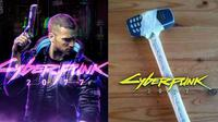 Modifikasi benda ala game Cyberpunk 2077 (Sumber: Facebook/ketawaaesthetic)