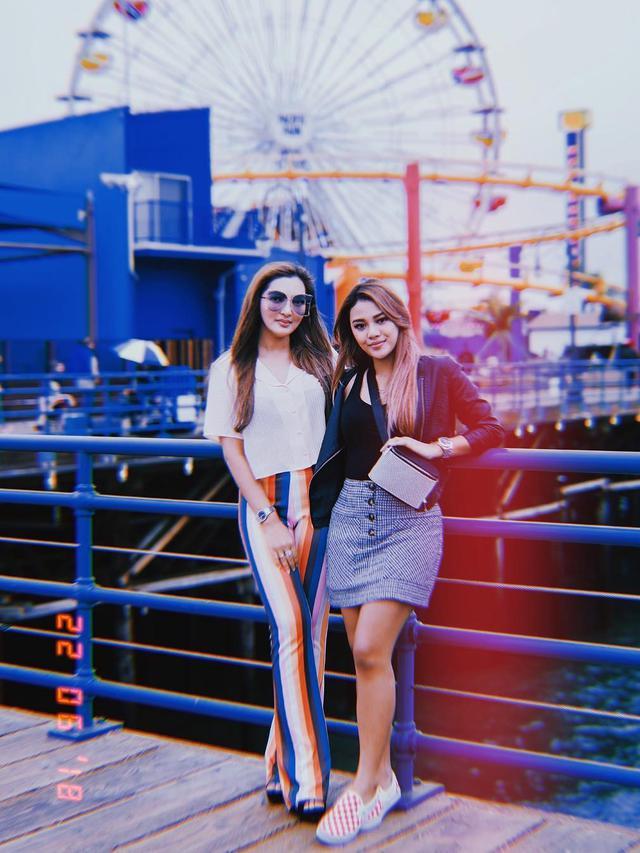 [Bintang] Aurel Hermansyah dan Ashanty
