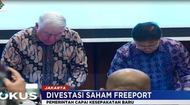 Pemerintah Indonesia saat ini tengah menyusun landasan hukum untuk proses divestasi.