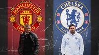 Premier League - Ole Gunnar Solskjaer Vs Frank Lampard (Bola.com/Adreanus Titus)