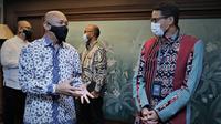 Menteri Koperasi dan UKM Teten Masduki kolaborasi dengan Menteri Pariwisata Sandiaga Uno dalam membangun destinasi wisata (dok: Humas)