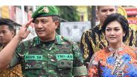 Momen Pensiun Suami Bella Saphira dari TNI (sumber: instagram/bellasaphiraofficial)