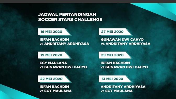 Jadwal Rexona Soccer Stars Challenge.