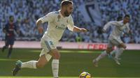 Mahar 6,5 juta euro ditebus Real Madrid sebagai bentuk ketertarikan Real Madrid pada tahun 2013. Kini, Carvajal salah satu pemain yang berharga bagi Real Madrid. (AFP/Curto de la Torre)
