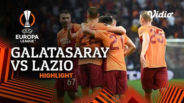 Berita video highlights Liga Europa, Lazio dikalahkan Galatasaray dengan skor 0-1, Kamis malam(16/9/21)
