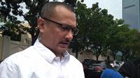 Ketua DPP bidang Advokasi dan Bantuan Hukum Partai Demokrat Ferdinand Hutahaean (Merdeka.com/ Muhammad Genantan)