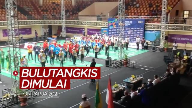 Berita video cabang olahraga bulutangkis di PON Papua 2021 resmi dimulai dan pembukaannya oleh Ketua Umum KONI Pusat dan Walikota Jayapura, Selasa (5/10/2021).