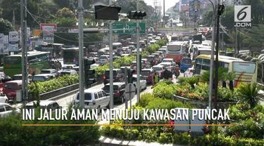 Polres Bogor merekomendasikan aagar masyarakat menggunakan jalur Cibubur jika ingin menghabiskan libur panjang ke kawasan Puncak, Cianjur, dan Cipanas