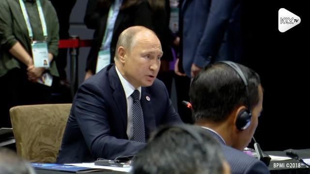 Peningkatan kerja sama ekonomi antara Indonesia dan Rusia menjadi isu utama yang diangkat Presiden Joko Widodo dalam pertemuan bilateral dengan Presiden Rusia, Vladimir Putin.