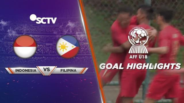 Berita video gol-gol yang tercipta saat Timnas Indonesia menang 7-1 atas Filipina pada laga pertama Grup A Piala AFF U-18 2019, Selasa (6/8/2019).