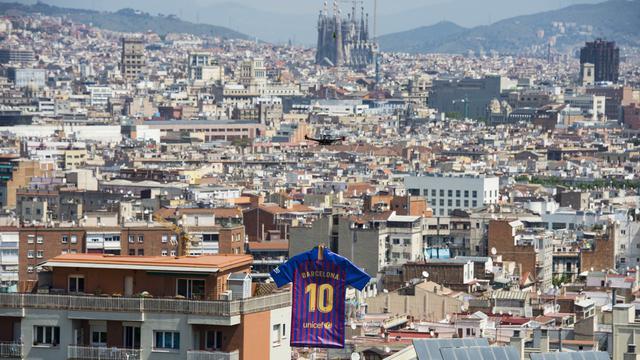 Barcelona, Jersey Baru, La Liga