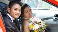 Felomino Lumanao dan Mae Tac-an (Thania Tiffany/facebook.com)