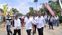 Majukan ekonomo Bengkulu, Kemendes PDTT dan KemenPUPR bangun beberapa infrastruktur di Bengkulu Utara. (foto: dok. Kemendes PDTT)