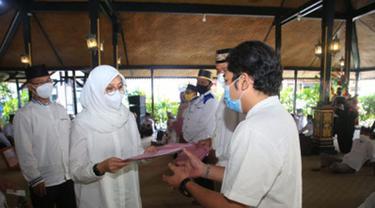 Pemkab Banyuwangi Berikan Tali Asih sebagai Bentuk Apresiasi Karya Bagi Seniman dan Budayawan