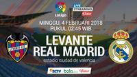 La Liga_Levante Vs Real Madrid (Bola.com/Adreanus Titus)