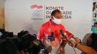 Pelatih bersertifikat Federasi Hockey Internasional (FIH), Muhammad Dhaarma Raj Abdullah, kini menjabat sebagai Direktur Teknik Tim Nasional (Timnas) Hockey Indonesia. (dok. FHI)