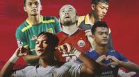 Piala Menpora - Bintang-bintang Piala Menpora 2021 di Timnas Indonesia (Bola.com/Adreanus Titus)