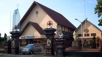Paroki St. Yohanes. (Yuliardi/Liputan6.com)