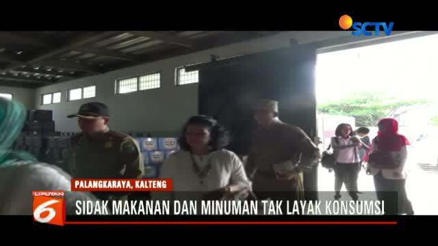 BPOM Palangka Raya menemukan makanan mengandung borak di pasar Ramadan di Kapuas, Kalimantan Tengah.
