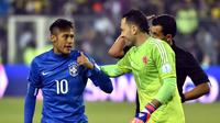 Neymar (AFP PHOTO / NELSON ALMEIDA)
