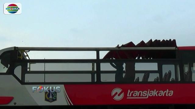 PT Transjakarta sediakan bus tingkat atap terbuka untuk pawai kemenangan Persija pada Sabtu (15/12) esok.