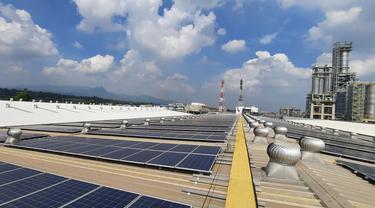 Pembangunan panel tahap keduapanel surya PV (photovoltaic) untuk Chandra Asri Petrochemical di Kota Cilegon, Banten, telah diselesaikanoleh TotalEnergies. (Kamis, 22/07/2021).