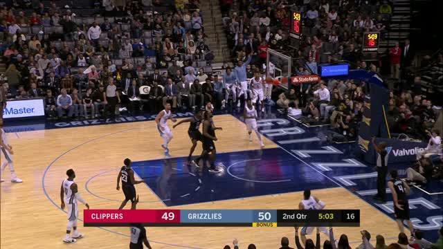 Berita video game recap NBA 2017-2018 antara Memphis Grizzlies melawan LA Clippers dengan skor 115-112.