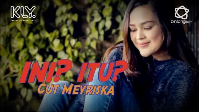Cut Meyriska menerima tantangan dari bintang.com, memilih salah satu diantara dua pillilhan