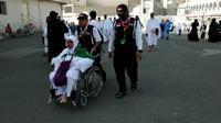 Tim Petugas Pertolongan Pertama pada Jamaah Haji (P3JH) Kementerian Agama mencatat, adanya peningkatan jumlah jemaah haji yang terpisah dari rombongannya. . (Dok Tim Petugas Pertolongan Pertama pada Jamaah Haji (P3JH) Kementerian Agama)