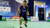 Tunggal putra Indonesia, Jonatan Christie, melaju ke babak perempat final Prancis Super Series 2016, Kamis (27/10/2016). (PBSI)