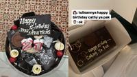 Kue Ulang Tahun yang Gagal karena Salah Tulis, Bikin Ngakak. (Sumber: Twitter/aldapsptsr)