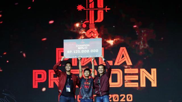 Aby Ramadhan Juara MPL Fruit Dart di Piala Presiden Esports 2020