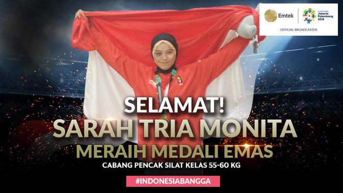 Mengenal Peraih Emas Asian Games 2018: Sarah Tria Monita ...
