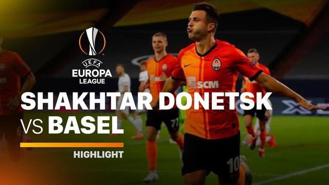 Berita video highlights perempat final Liga Europa 2019/2020, di mana Shakhtar Donetsk melumat Basel 4-1 dan mengantarkan mereka menghadapi Inter Milan pada babak semifinal.
