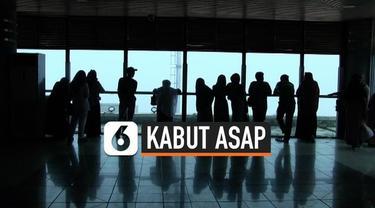 Penerbangan di Bandara Sultan Mahmud Badaruddin II terganggu akibat jarak pandang yang pendek. Tebalnya kabut asap membuat jarak pandang tidak aman untuk dilakukan penerbangan.