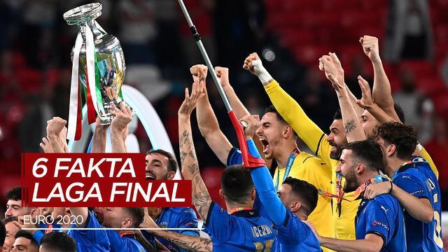 Berita Video, 6 Fakta Menarik di Partai Final Euro 2020 Termasuk Rekor dari Leonardo Bonucci dan Luke Shaw