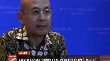 Atas pernyataan Fraser Anning tersebut tak menutup kemungkinan pemerintah Indonesia akan melarang senator dari bagian Queensland itu masuk ke Indonesia.