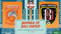 Shopee Liga 1 - Borneo FC Vs Bali United (Bola.com/Adreanus Titus)