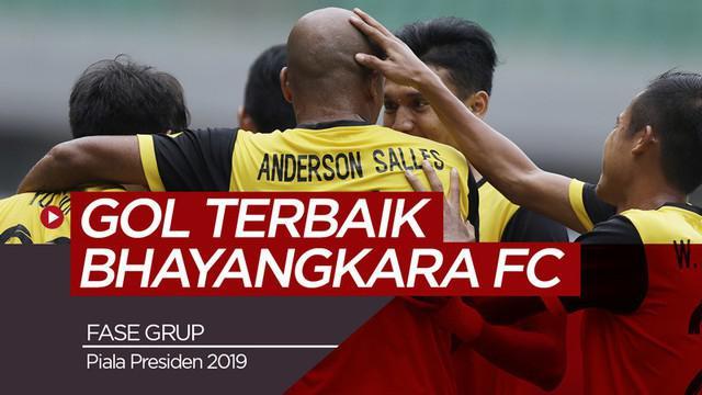 Berita video 3 gol terbaik yang diciptakan Bhayangkara FC pada fase grup Piala Presiden 2019.