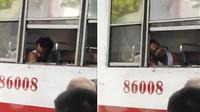 pria kehilangan tangan saat tidur di bus (foto: Facebook The Philippines News)