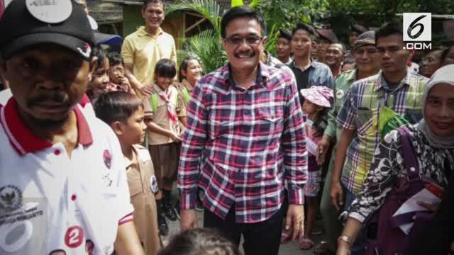Wakil Gubernur DKI Jakarta Djarot Saiful Hidayat mengatakan Ahok berpesan agar dirinya tetap menjalankan pelayan kepada masyarakat.