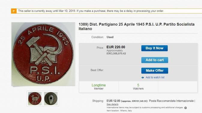 [Cek Fakta] Beredar Koin PSI Mirip Logo PKI, Benarkah?