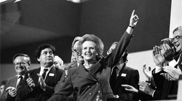 Margaret Thatcher. (Reuters)