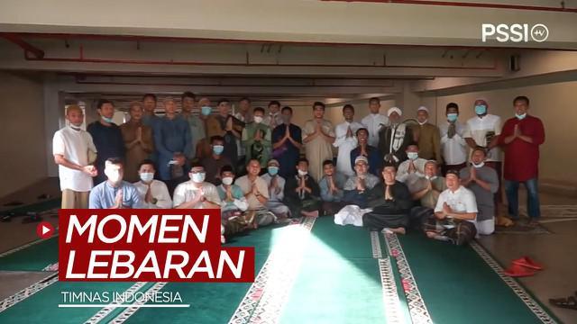 Berita video momen hari Lebaran yang dilakukan skuad Timnas Indonesia jelang mereka berangkat ke Dubai, Uni Emirat Arab.