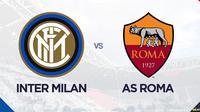 Liga Italia: Inter Milan vs AS Roma. (Bola.com/Dody Iryawan)