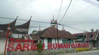 Solok Selatan dikenal dengan sebutan Saribu Rumah Gadang.