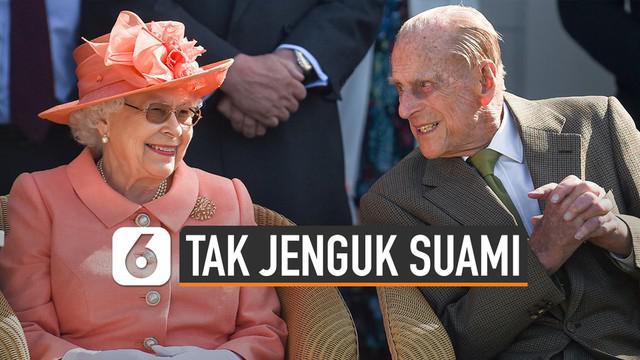 Pangeran Philip dirawat di RS selama empat malam.
